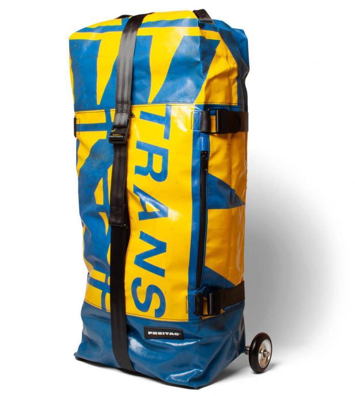 Freitag Freitag Travel Suitcase Zippelin blue/yellow