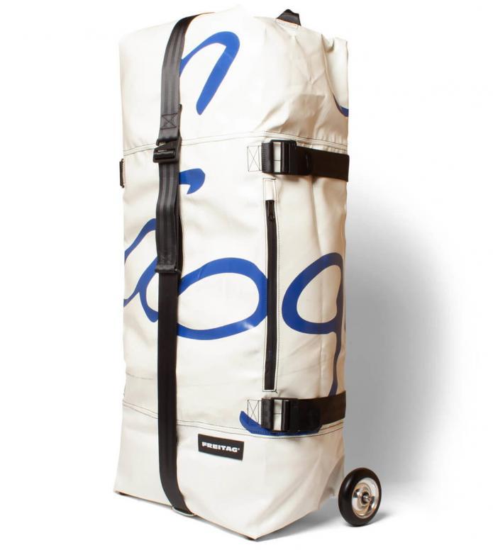 Freitag Freitag Travel Suitcase Zippelin white/blue