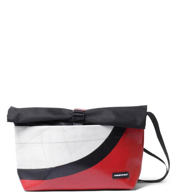 Freitag Freitag ToP Bag Rollin red/white/black