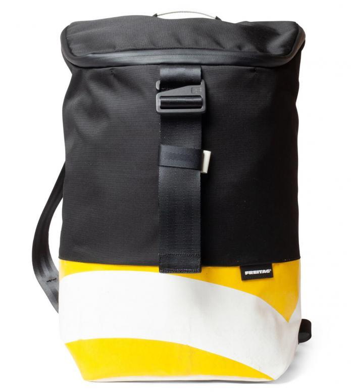 Freitag Freitag ToP Backpack Carter white/yellow