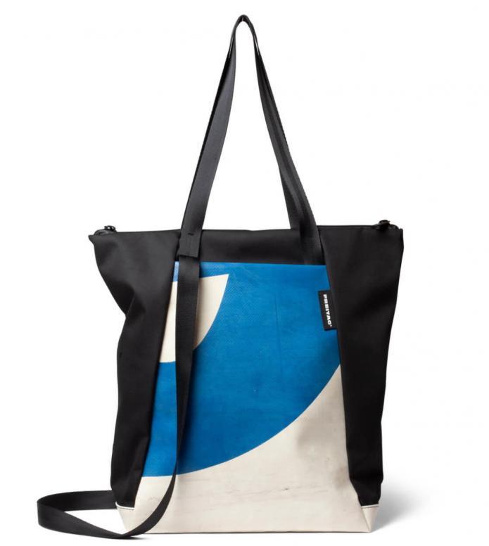 Freitag Freitag ToP Tote Bag Davian white/blue