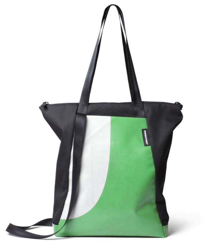 Freitag Freitag ToP Tote Bag Davian green/white