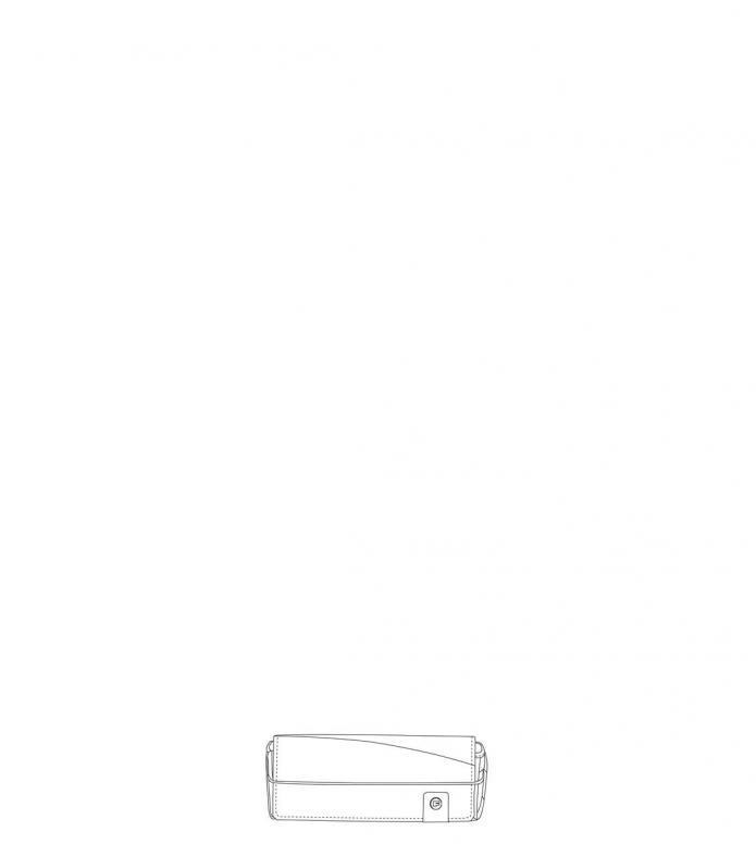 Freitag Glasses Case Ted