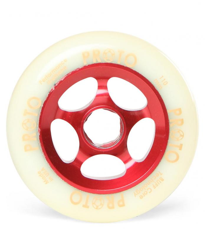 Proto Wheel Gripper red/white 110mm