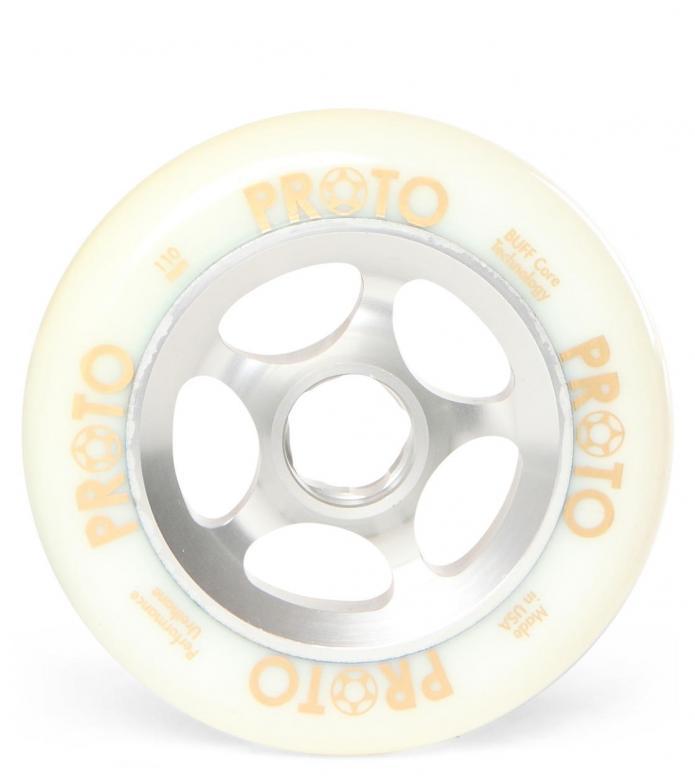 Proto Wheel Gripper silver/white 110mm