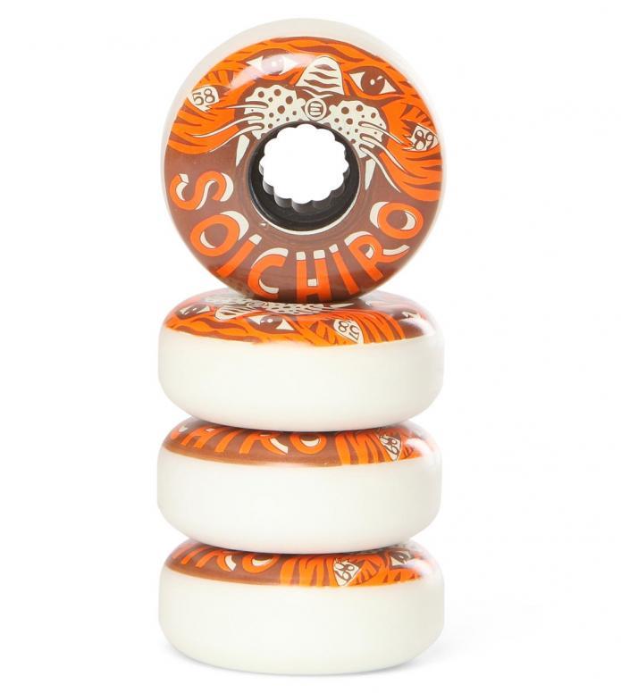 Eulogy Wheels Soichiro Kanashima Vintage 55.5er brown/orange