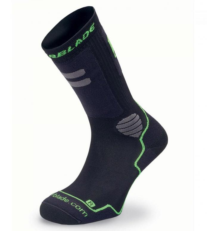 Rollerblade Socks High Performance black/green 43-46