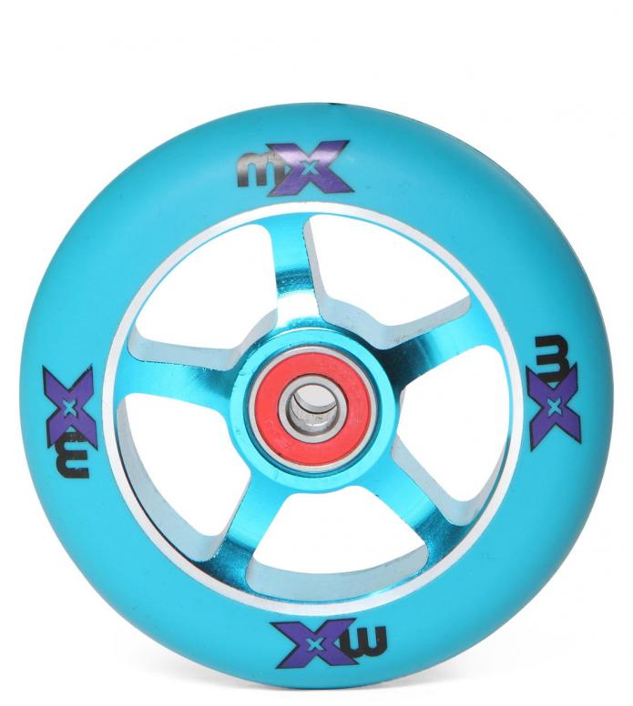 Micro Wheel MX blue/blue 100mm
