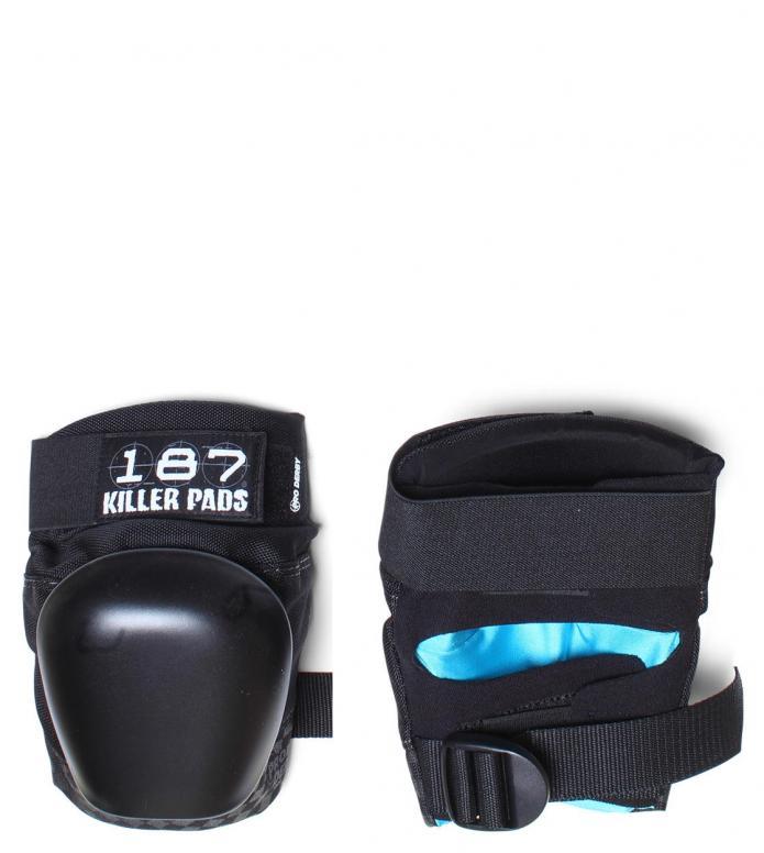 187 Killer Protection Derby Pads Pro black/black S