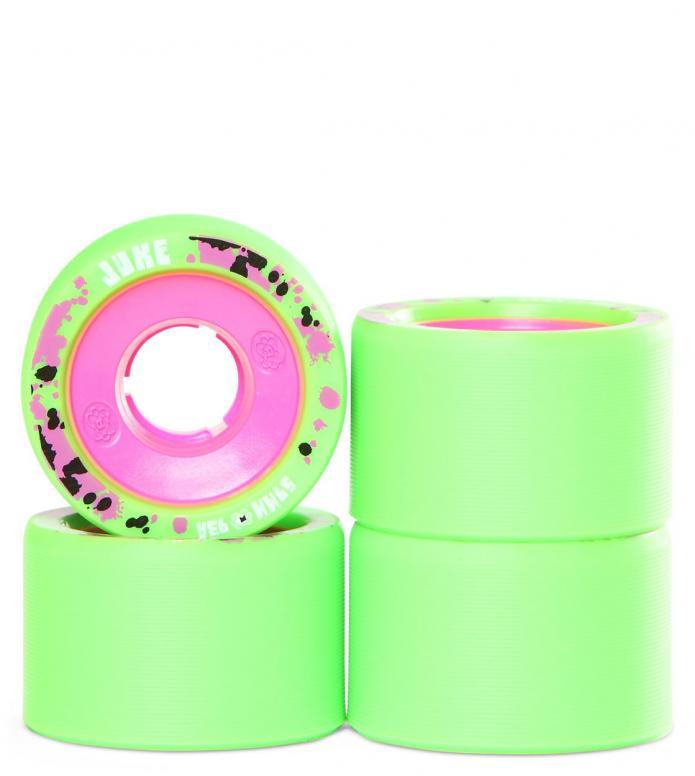Atom Wheels Juke green/pink 59mm/93A