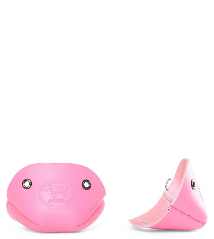 Riedell Accessories Leather Toe Cap pink Pair