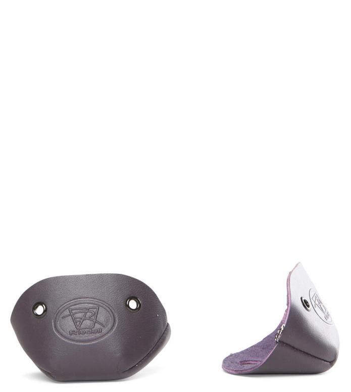 Riedell Accessories Leather Toe Cap purple Pair