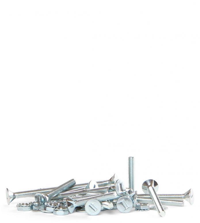 PowerDyne Screw Mounting Kit silver 70mm