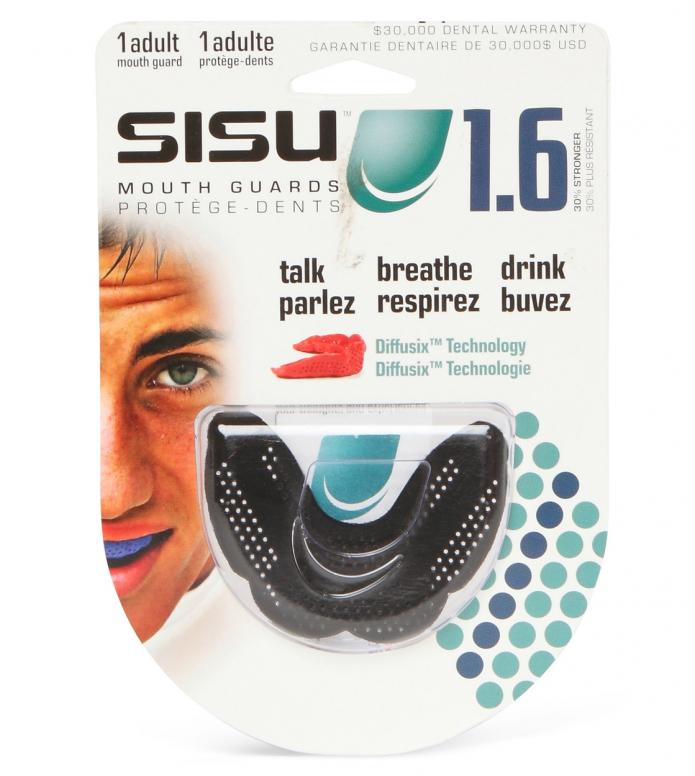 Sisu Mounthgard Aero 1.6 black charcoal one size