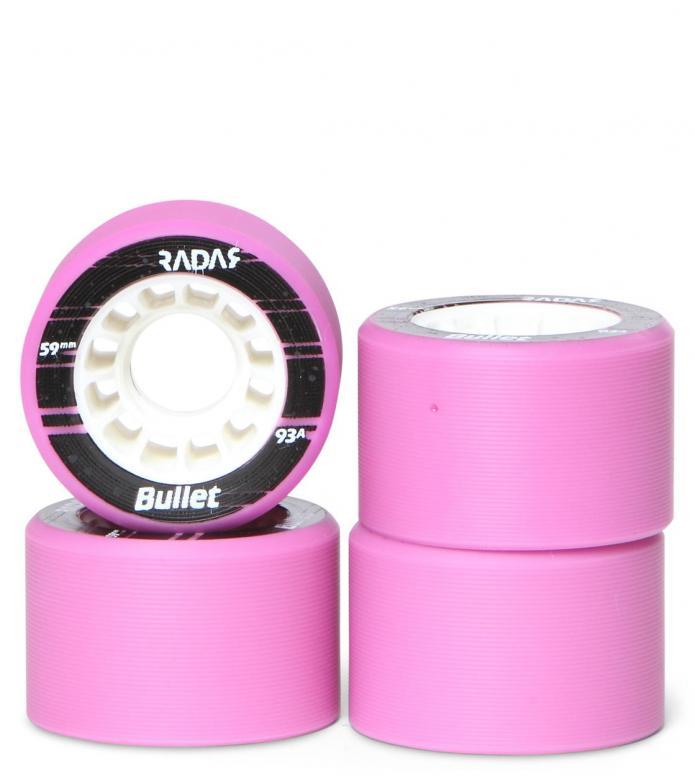 Radar Wheels Bullet pink neon 59mm/91A