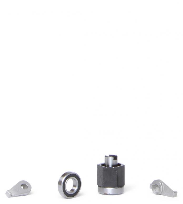 Skike Bearings Reverse Lock black one size