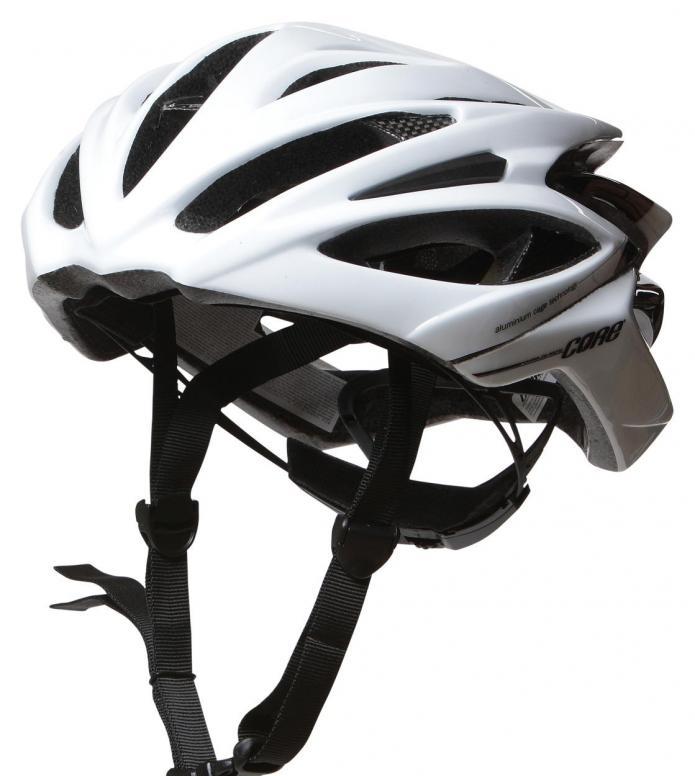 Powerslide Powerslide Helmet Fitness Pro Carbon white matte