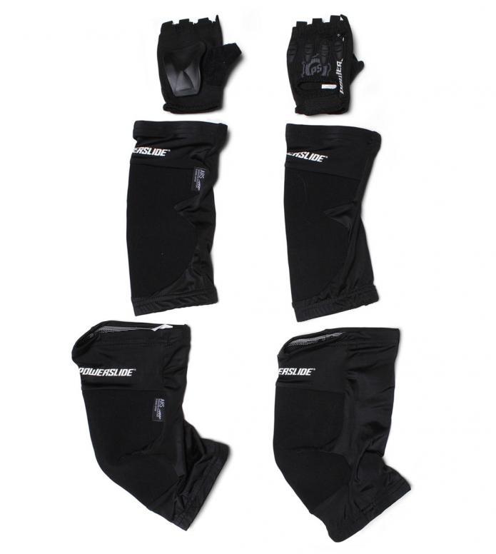 Powerslide Protection Race Tri-Pack II black S
