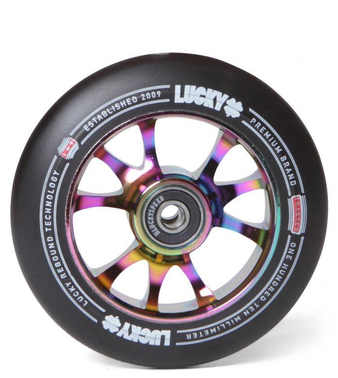 Lucky Wheel Toaster 110er rainbow/black