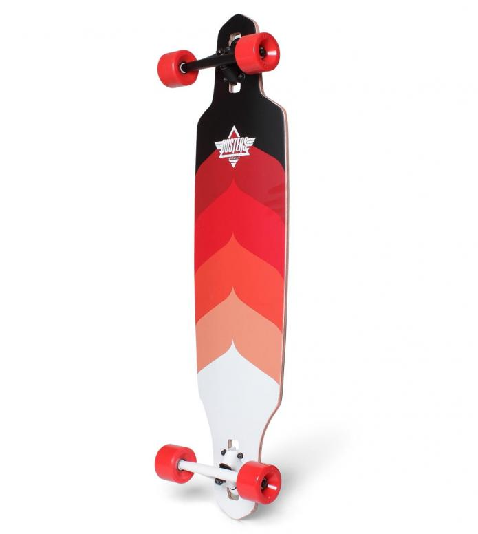 Dusters Dusters Longboard Wake red/kryptonic red
