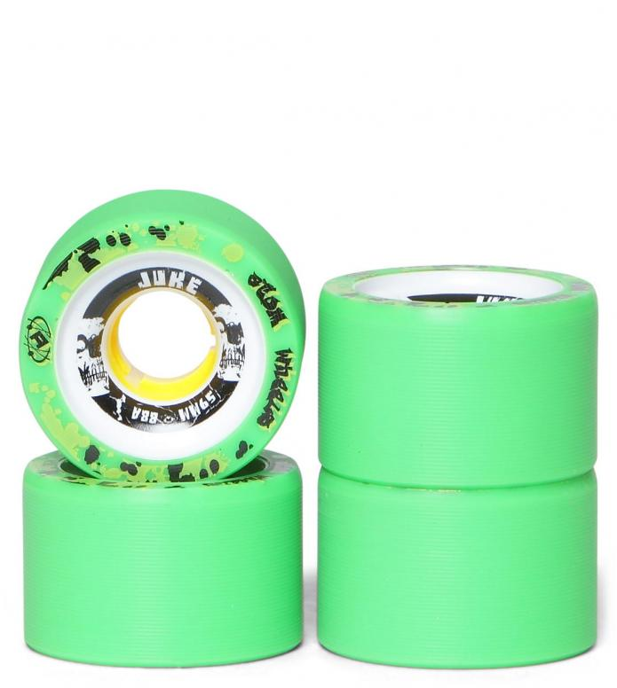 Atom Wheels Juke green/white 59mm/88A