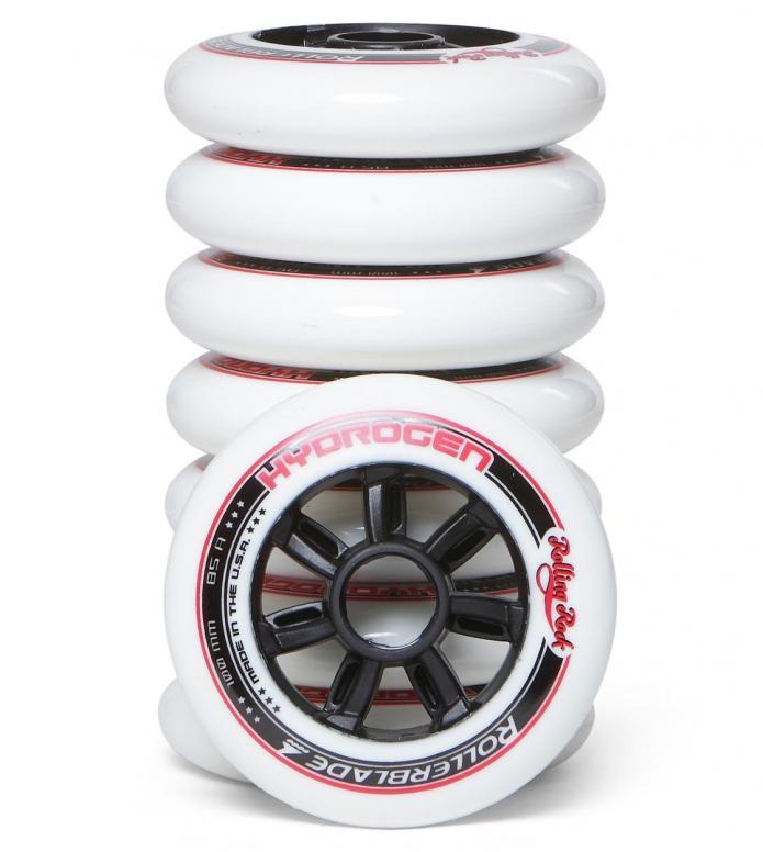 RB x Rolling Rock Wheels Hydrogen white 100mm/85A