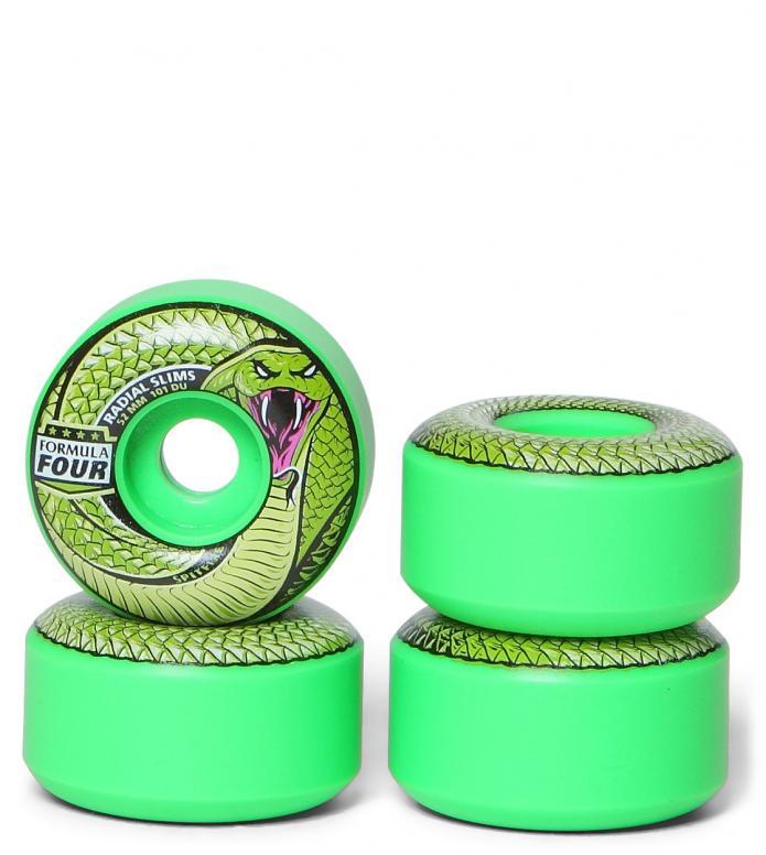 Spitfire Wheels Radial Slims F4 green 52mm/101D