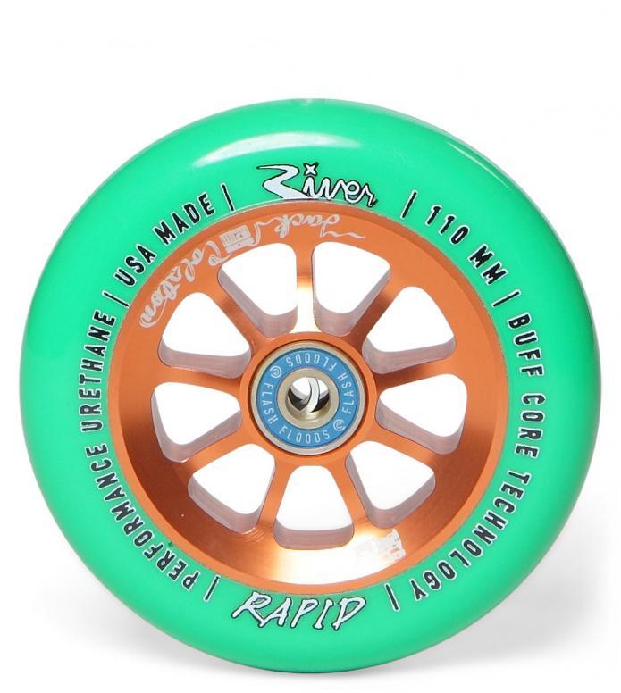River Wheel Rapids Jack Colston bronze/green mint 110mm