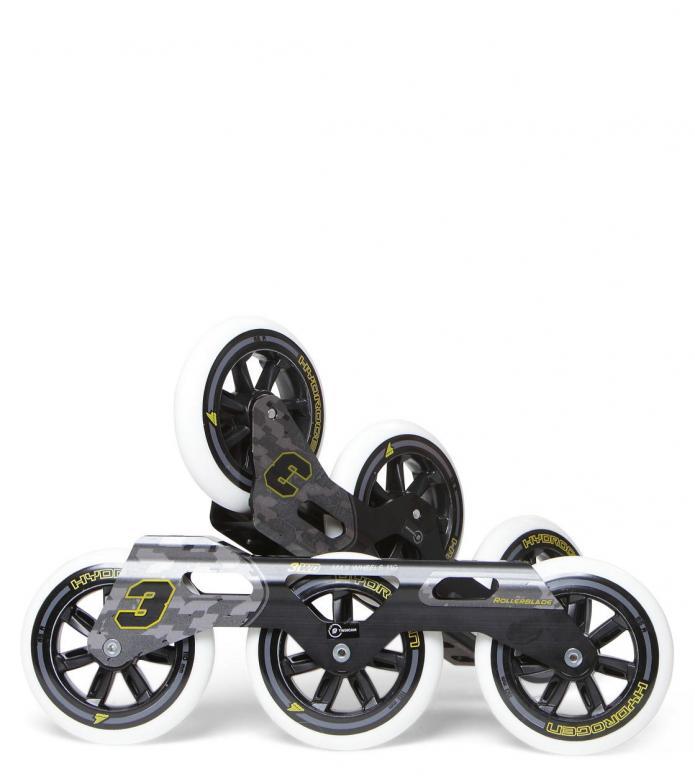 Rollerblade Frame Kit Complete black 3x 110mm