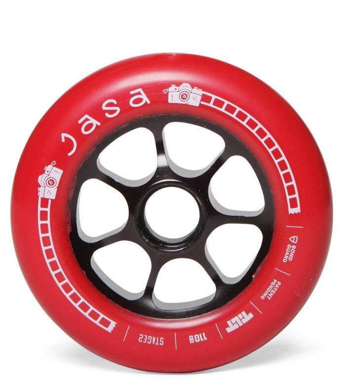 Tilt Wheel Jasa red 110mm