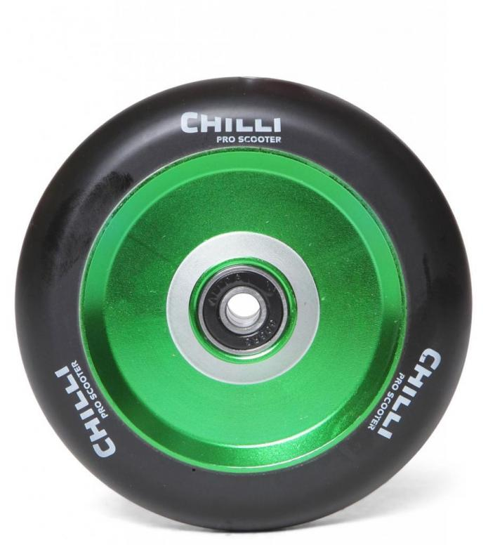 Chilli Wheel Coast 110er green/black