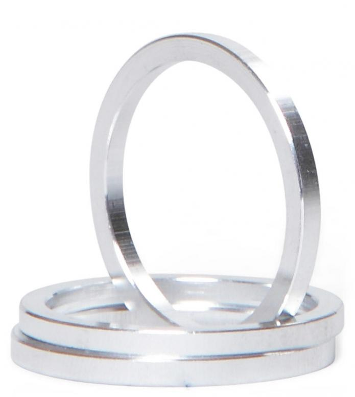 AO Adapter Rings Kit silver one size