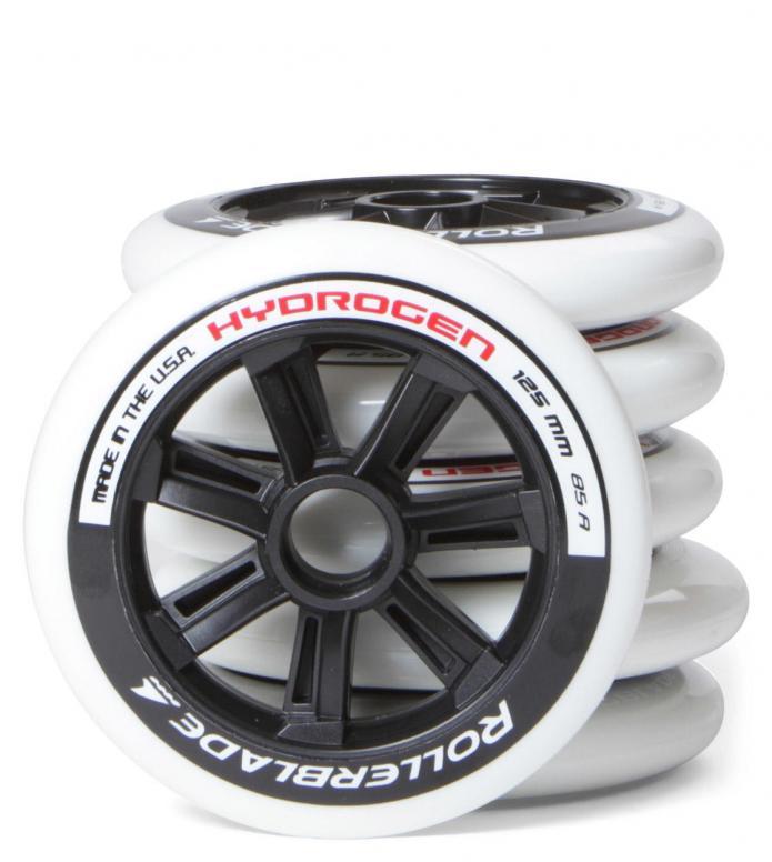 Rollerblade Wheels Hydrogen white 125mm