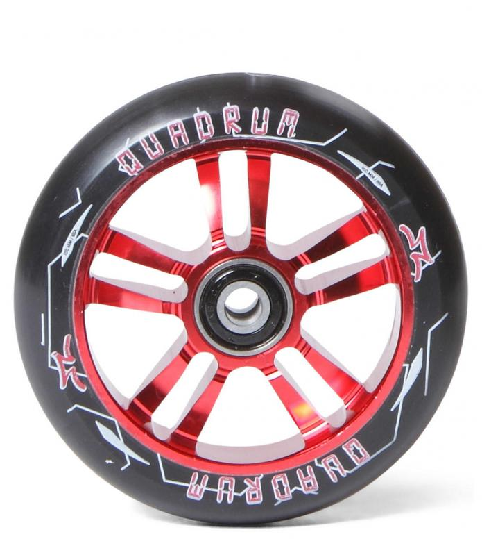 AO Wheel Quadrum 10-Star 100er red 100mm