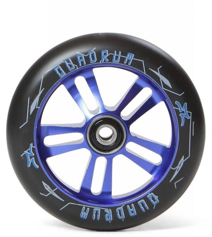 AO Wheel Quadrum 10-Star 110er blue 110mm