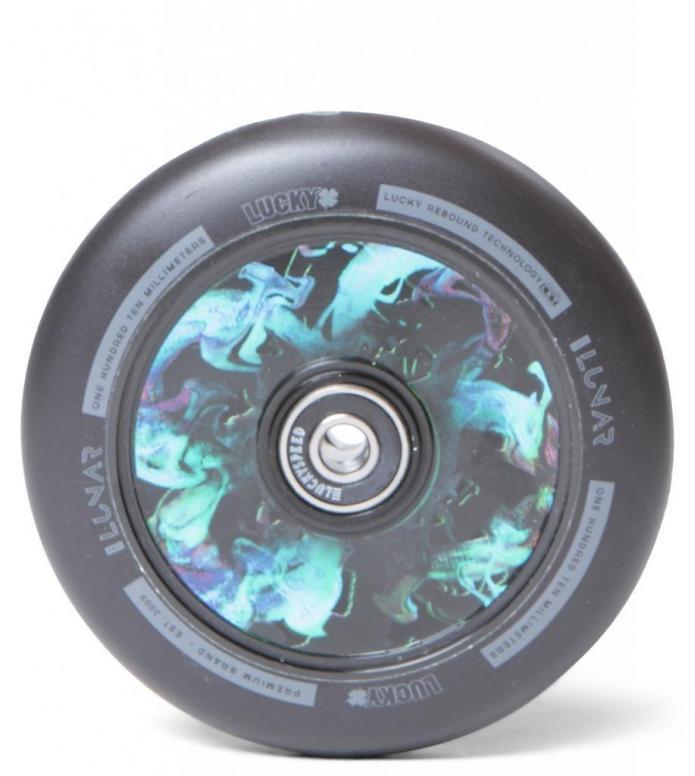Lucky Wheel Lunar Hollow Core black supernova 110mm