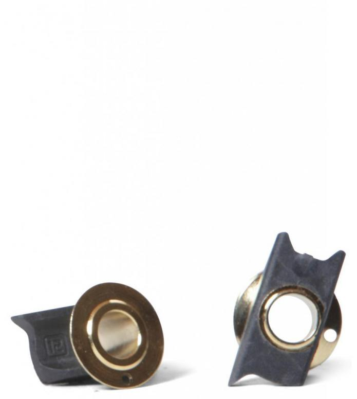 Ethic Spacers Iconoclast Pair black one size