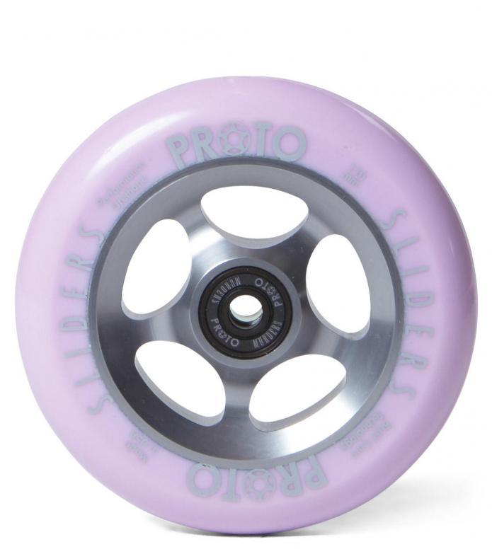 Proto Wheel Slider 110er silver/pink
