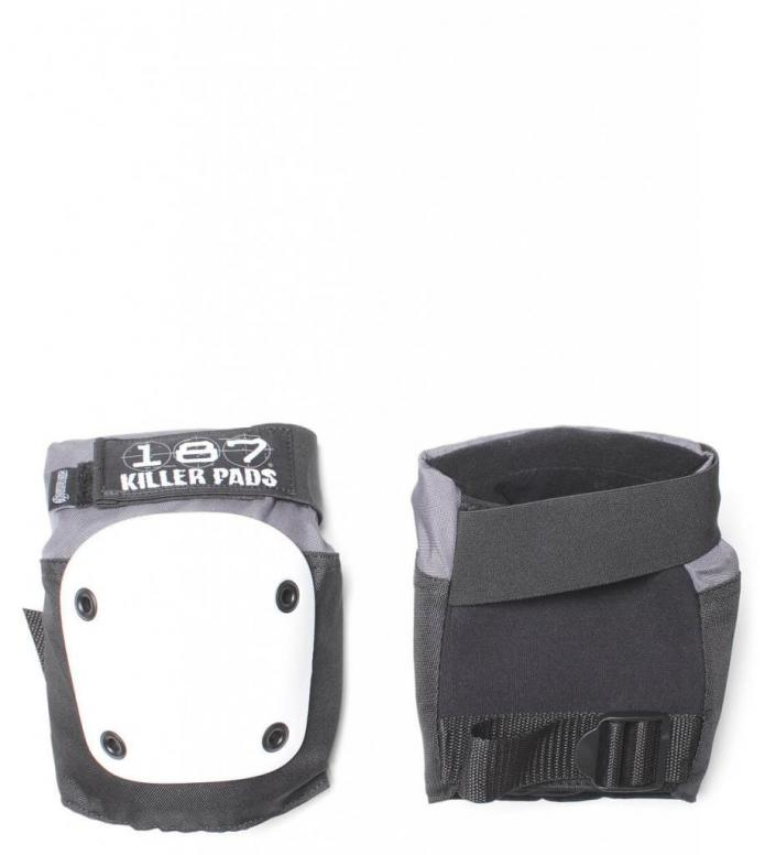 187 Killer Protection Knee Pads Fly black/white XS
