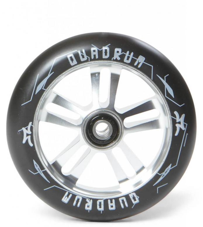 AO Wheel Quadrum 10-Star 110er silver/black 110mm