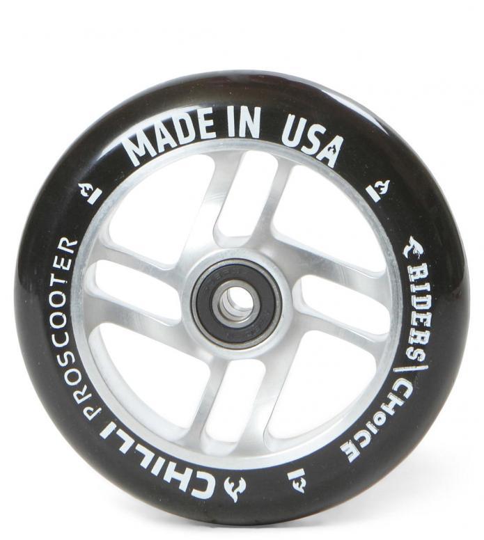 Chilli Wheel USA Riders Choice 110er silver/black 110mm