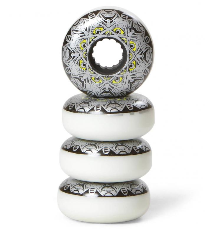 Eulogy Wheels Abdiel Colberg Legend white/black/silver/yellow 55mm/90A