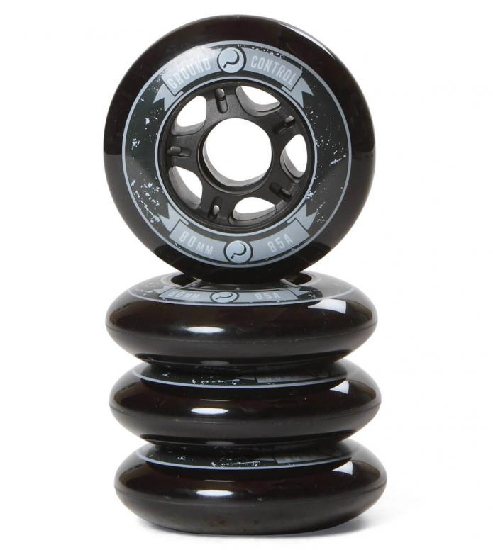 Ground Control Wheels 80er black 80mm/85A 4stk.