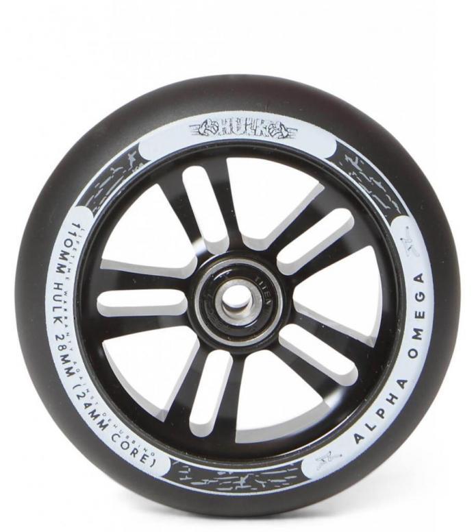AO Wheel Hulk 110er black/black 110mm