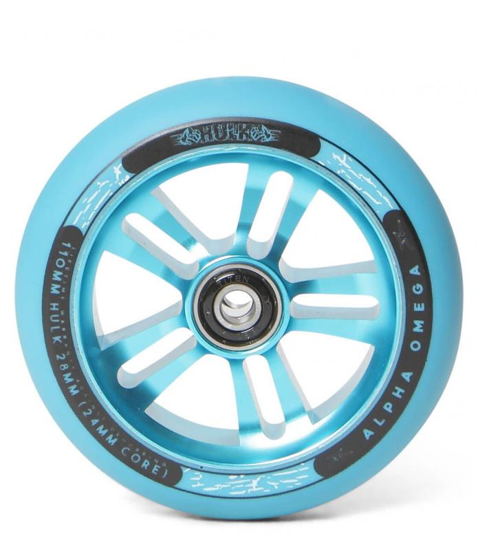 AO Wheel Hulk 110er turqouise 110mm