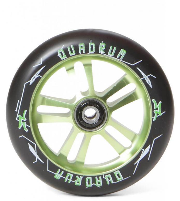 AO Wheel Quadrum 10-Star 110er green 110mm