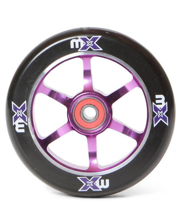Micro Wheel MX 110er purple/black 110mm