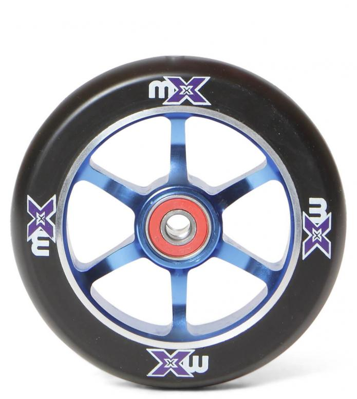 Micro Wheel MX 110er blue/black 110mm
