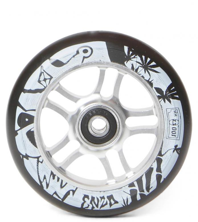 AO Wheel Enzo 100er silver 100mm