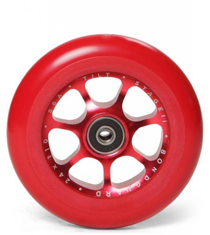 Tilt Wheel Stage II 110er red